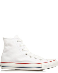 Chuck taylor canvas high top sneakers white medium 169397