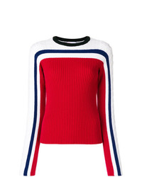 Striped knit sweater medium 8299185