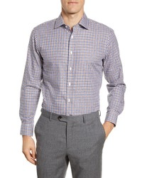 The Tie Bar Trim Fit Gingham Dress Shirt