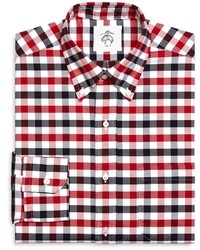 Brooks Brothers Gingham Oxford Button Down Shirt
