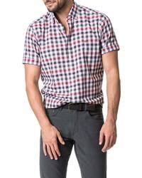 Rodd & Gunn Danbury Regular Fit Check Short Sleeve Button Up Shirt