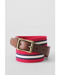 Club stripe elastic surcingle belt compass red stripe40 medium 318451