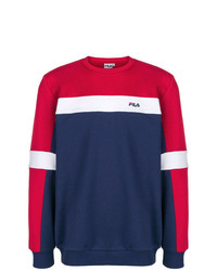 Fila Colour Block Fitted Sweater