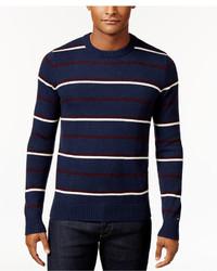 Tommy Hilfiger Justin Striped Crew Neck Sweater