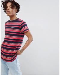 Rollas Old Mate Stripe Logo T Shirt