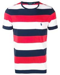 Polo Ralph Lauren Striped Logo T Shirt