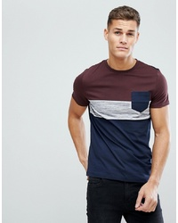 ASOS DESIGN T Shirt With Pocket In Inject Fabric
