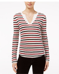 Parisian city striped long sleeve t shirt medium 1252960
