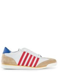 Dsquared2 striped sneakers medium 219557