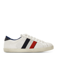 Moncler White Montreal Sneakers