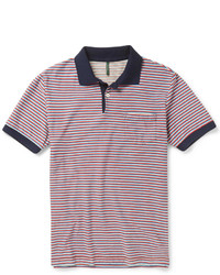 Striped cotton polo shirt medium 274945