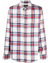 Alanui Plaid Button Front Shirt