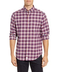 Vineyard Vines Murray Classic Fit Plaid Stretch Flannel Shirt