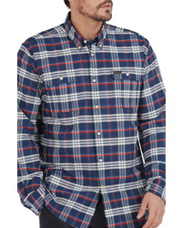 Barbour Barton Regular Fit Coolmax Plaid Shirt