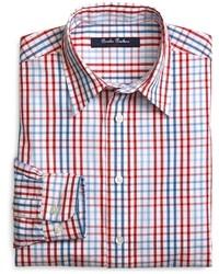 Brooks brothers plaid sport shirt medium 19466