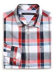 Tommy Hilfiger Classic Fit Plaid Shirt