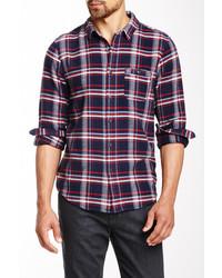 Joe's Jeans Relax Single Pocket Plaid Shirt