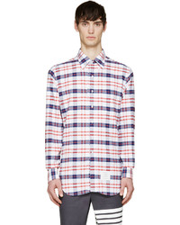 White plaid shirt medium 244668