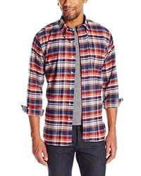 Woolrich Woolen Mills Plaid Button Front Shirt