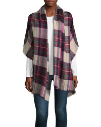 City streets plaid blanket cold weather scarf medium 6843453