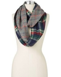 Manhattan Accessories Co Mixed Media Infinity Muffler Scarf