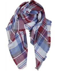Plaid blanket scarf medium 6843455