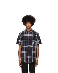 Burberry Navy Coleford Short Sleeve Shirt