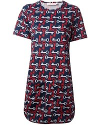 See by Chloe See By Chlo Key Print Dress