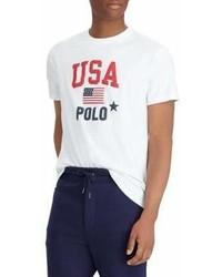 Polo Ralph Lauren Classic Fit Usa Cotton T Shirt