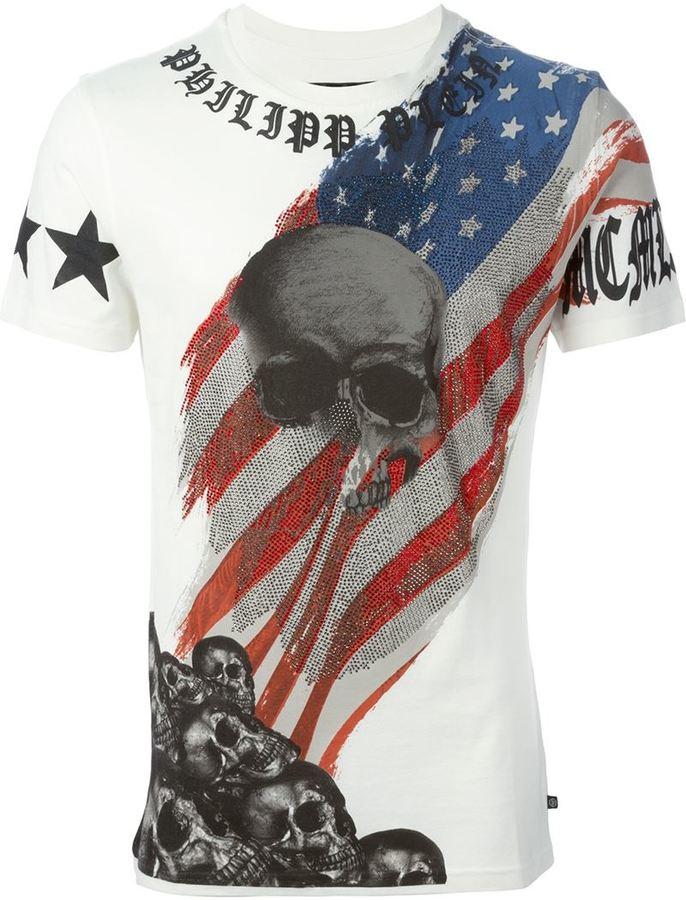 782db2904c Philipp Plein Hey You T Shirt, $587 | farfetch.com | Lookastic.com