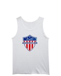 Artsmith Inc Tank Top American Dad Us United States Flag Shield