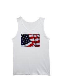 Artsmith Inc Tank Top Us American Flag Waving Hd