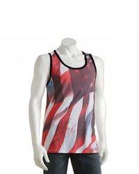 Dc Shoe Co Sublimation American Flag Tank