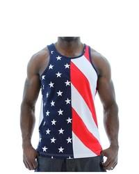Hudson NYC Flag Tank Tops American Flag Americana