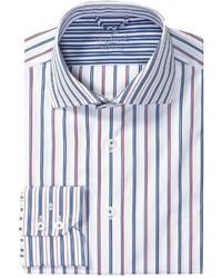 Rivara pattern shirt tailor fit french front long sleeve medium 339394