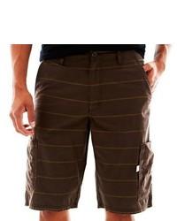 Vans Striped Cargo Shorts