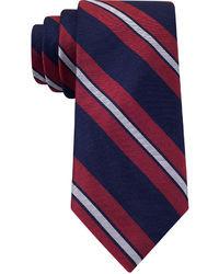 Tommy Hilfiger Rwb Twill Stripe Tie