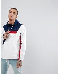 Reebok Half Zip Track Jacket In White Ce5073