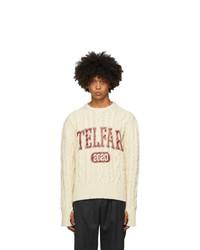 Telfar Off White Thumbhole Sweater