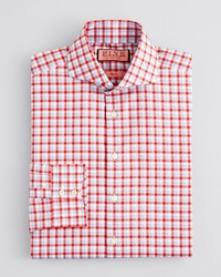Thomas Pink Gilham Check Dress Shirt Regular Fit