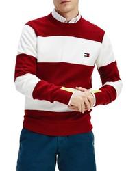 Tommy Hilfiger Neon Accent Stripe Sweater