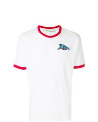 Off-White Contrast Trim T Shirt