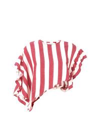 MARQUES ALMEIDA Marquesalmeida Striped Cropped Top
