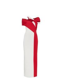 Haider Ackermann Bi Colour Maxi Dress