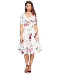 Unique Vintage 12 Sleeve Delores Swing Dress Dress