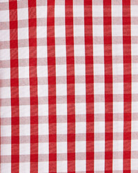 English Laundry Gingham Check Woven Dress Shirt Red