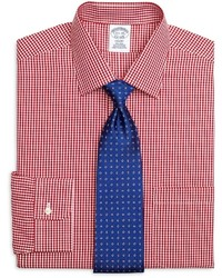 Brooks Brothers Non Iron Regent Fit Gingham Dress Shirt
