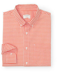 Club Monaco Slim Fit Gingham Shirt