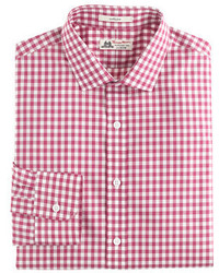 Thomas mason for ludlow shirt in seacrest gingham medium 318375