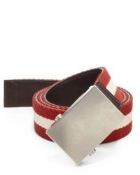 Bally Trainspotting Web Belt